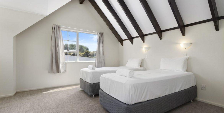 Upper bedroom area